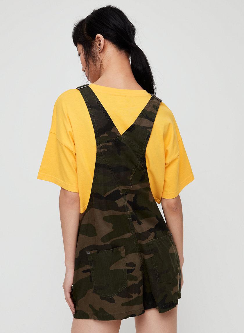 SENRYU ROMPER - Camo, short overalls