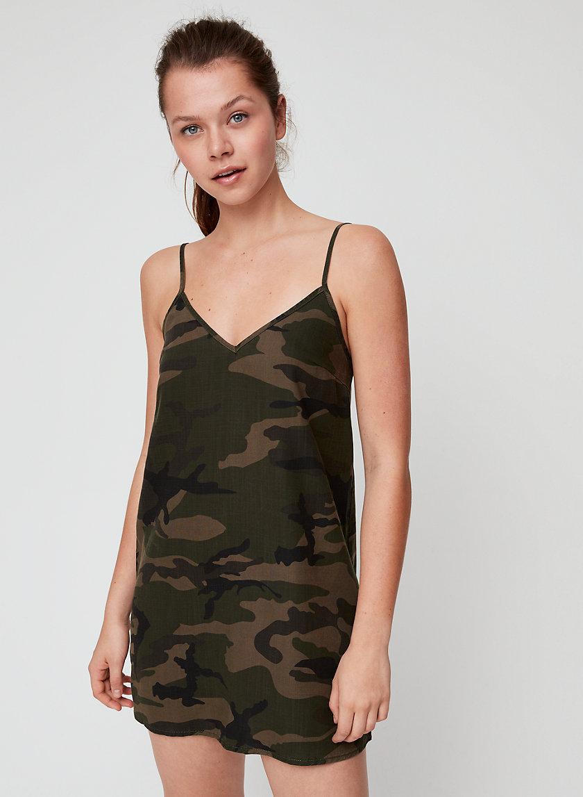 YIRRELL DRESS - Camo mini dress