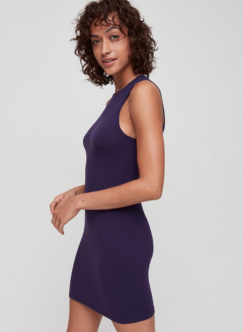 DEPAUL DRESS - Organic-cotton, bodycon dress