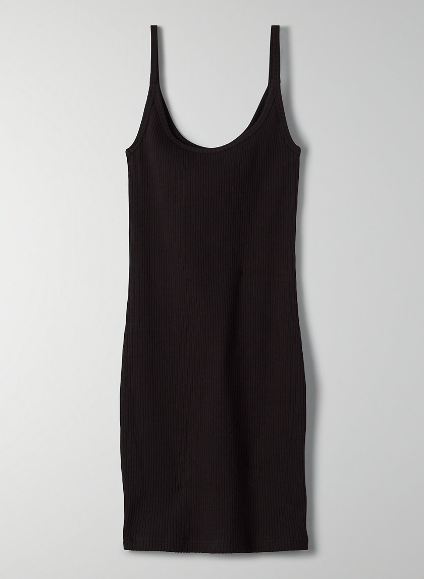 '90S HALLIE DRESS - Ribbed bodycon dress