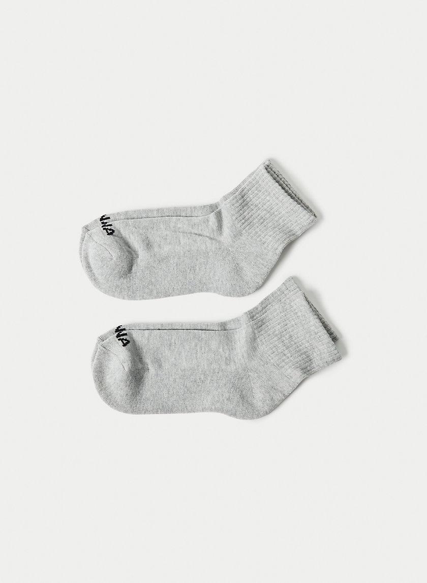 LOGO HIGH ANKLE - Logo ankle sock