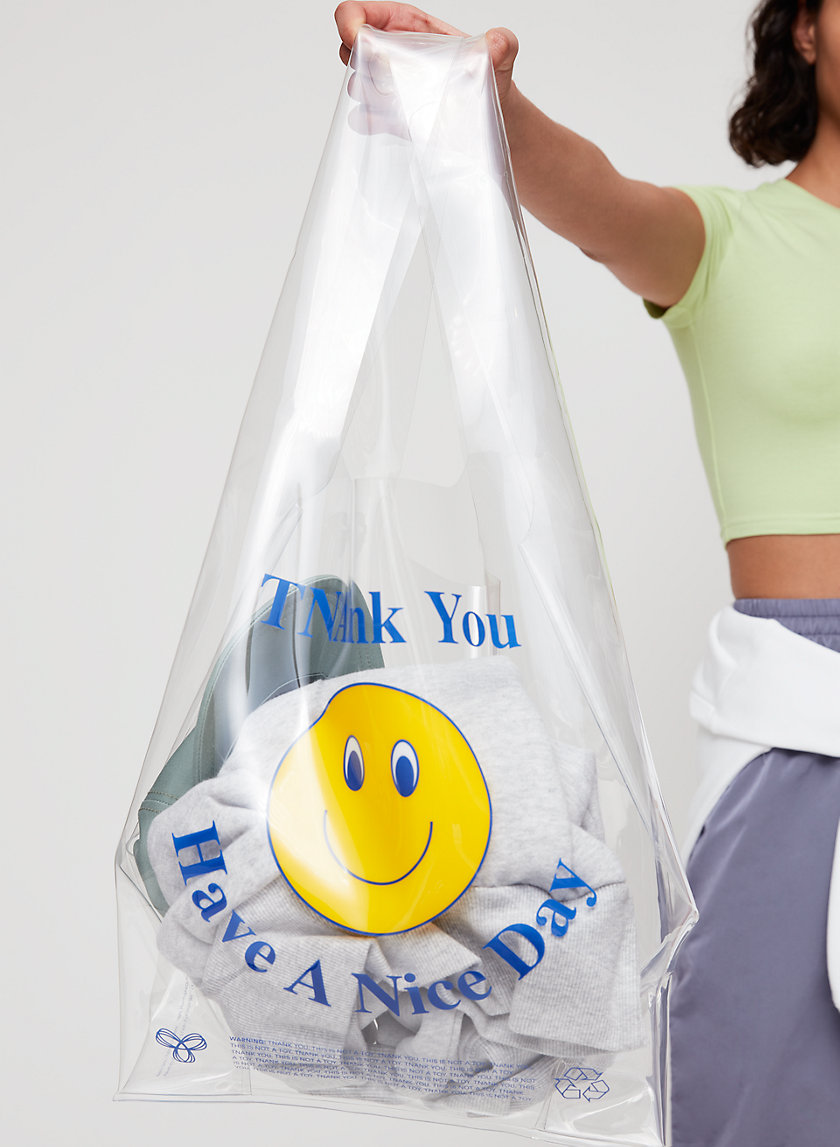 TNANK YOU SHOPPER - Transparent tote bag