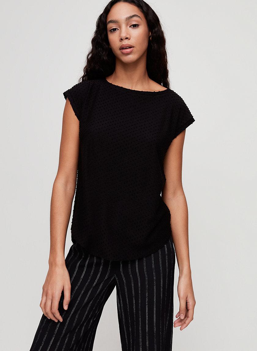 ANVERS T-SHIRT - Jacquard knit t-shirt
