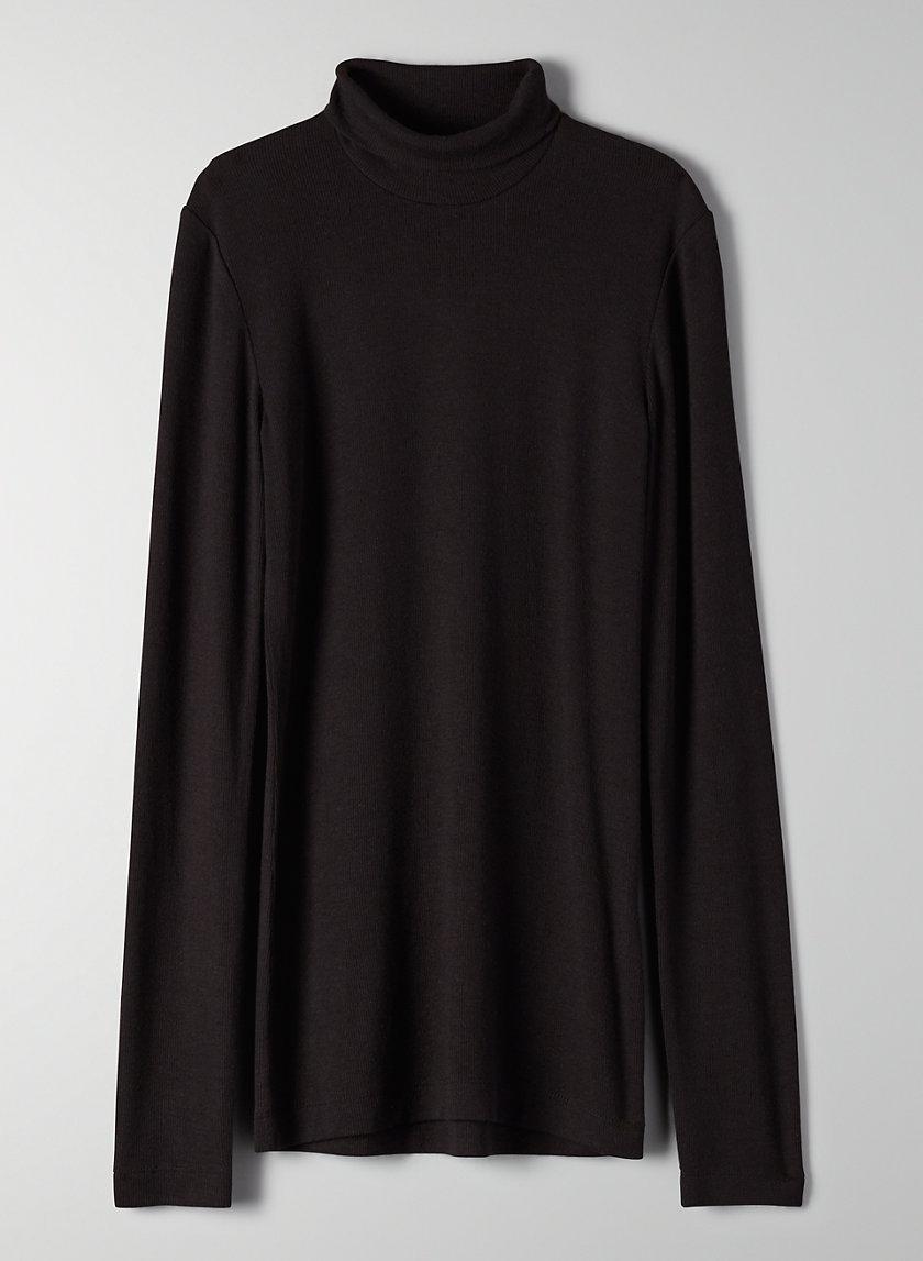 ONLY TURTLENECK - Long-sleeve, ribbed turtleneck shirt