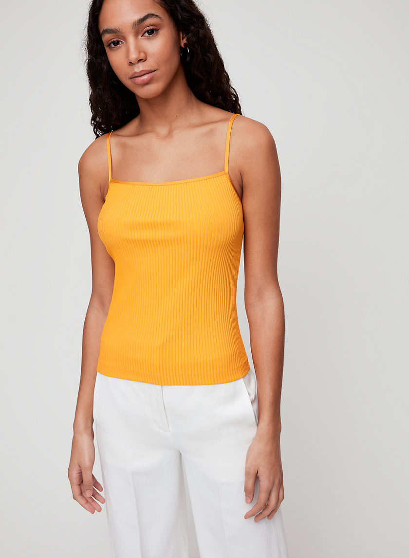 LACIANN TANK - Ribbed tank top
