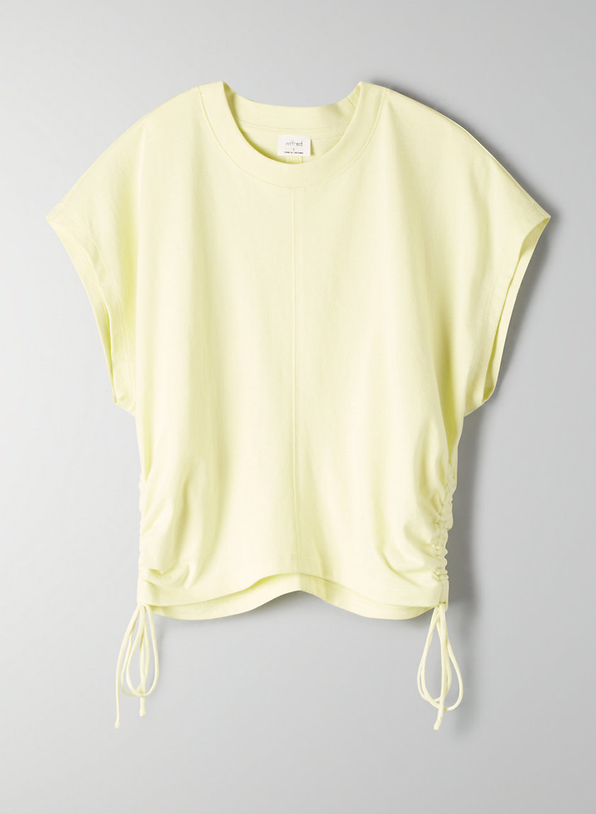 Wilfred RUCHED T-SHIRT | Aritzia