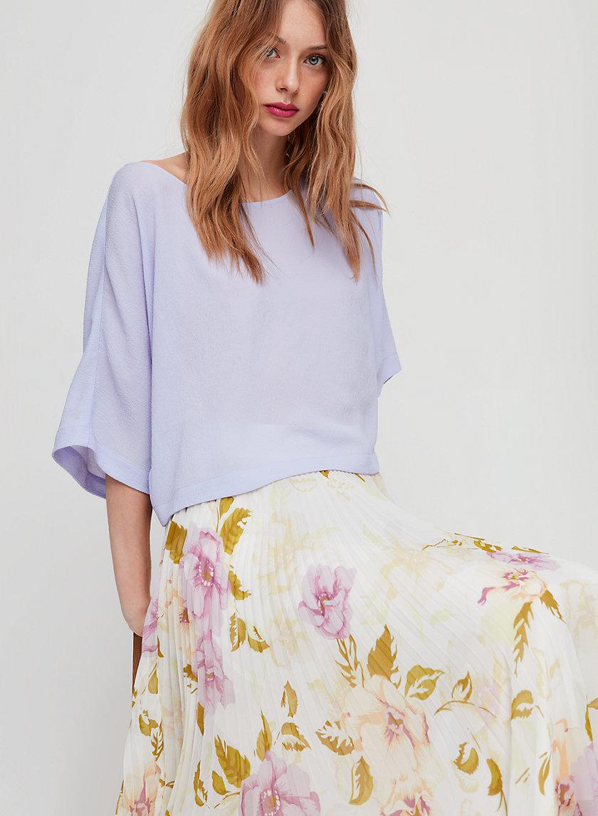 BLAYZE BLOUSE - Flowy, dolman sleeve blouse