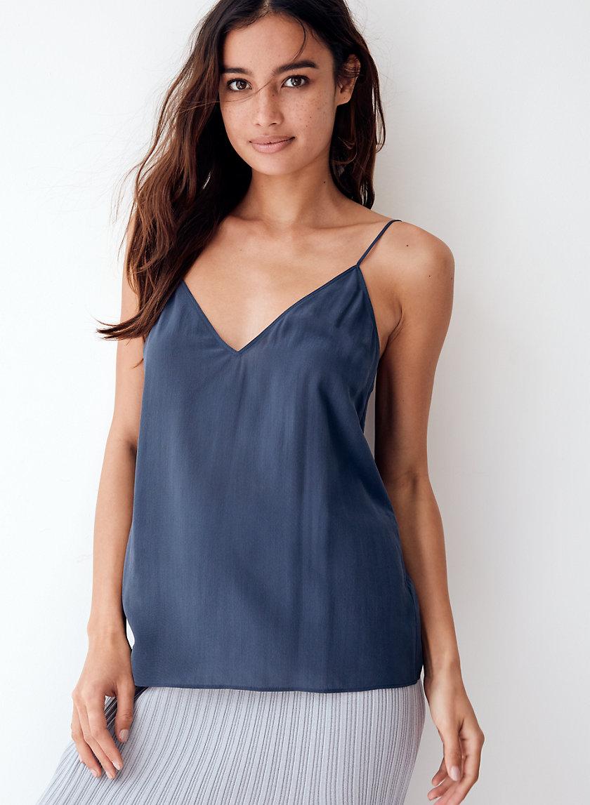 BOSCONO CAMISOLE - Shiny silk camisole