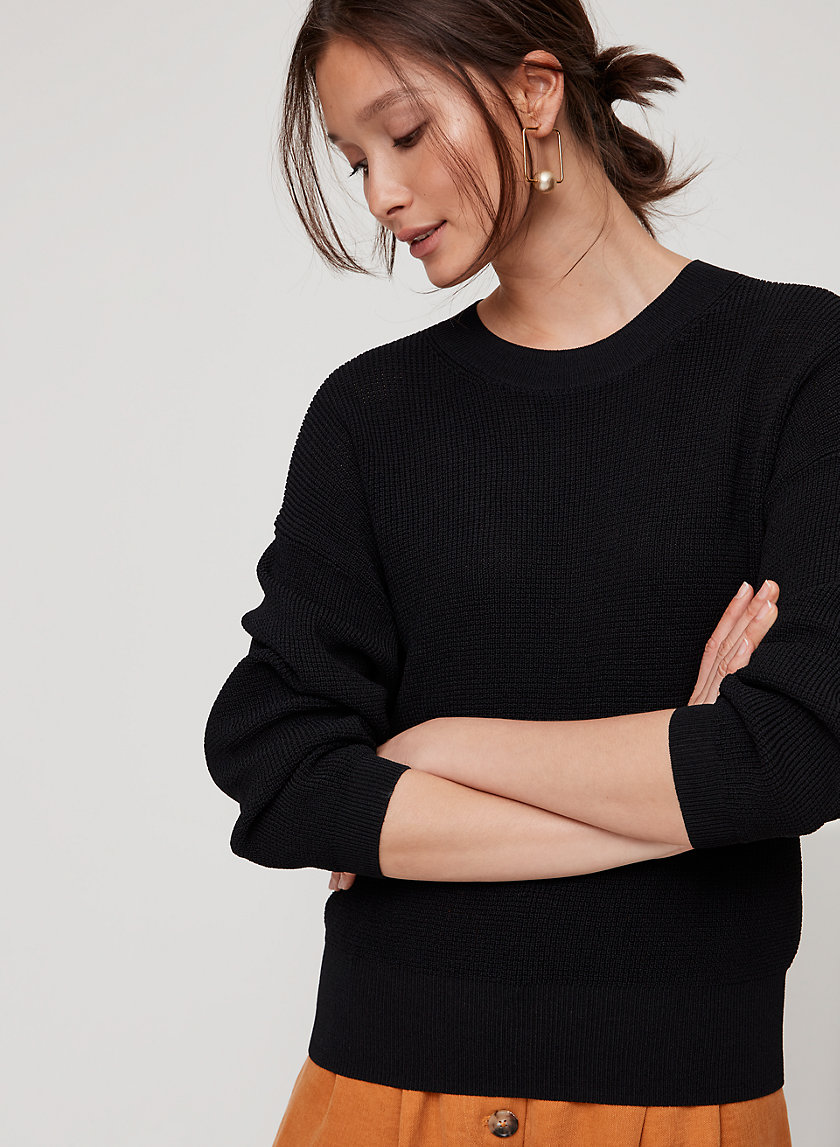 LIVVIE SWEATER - Lightweight, crewneck sweater