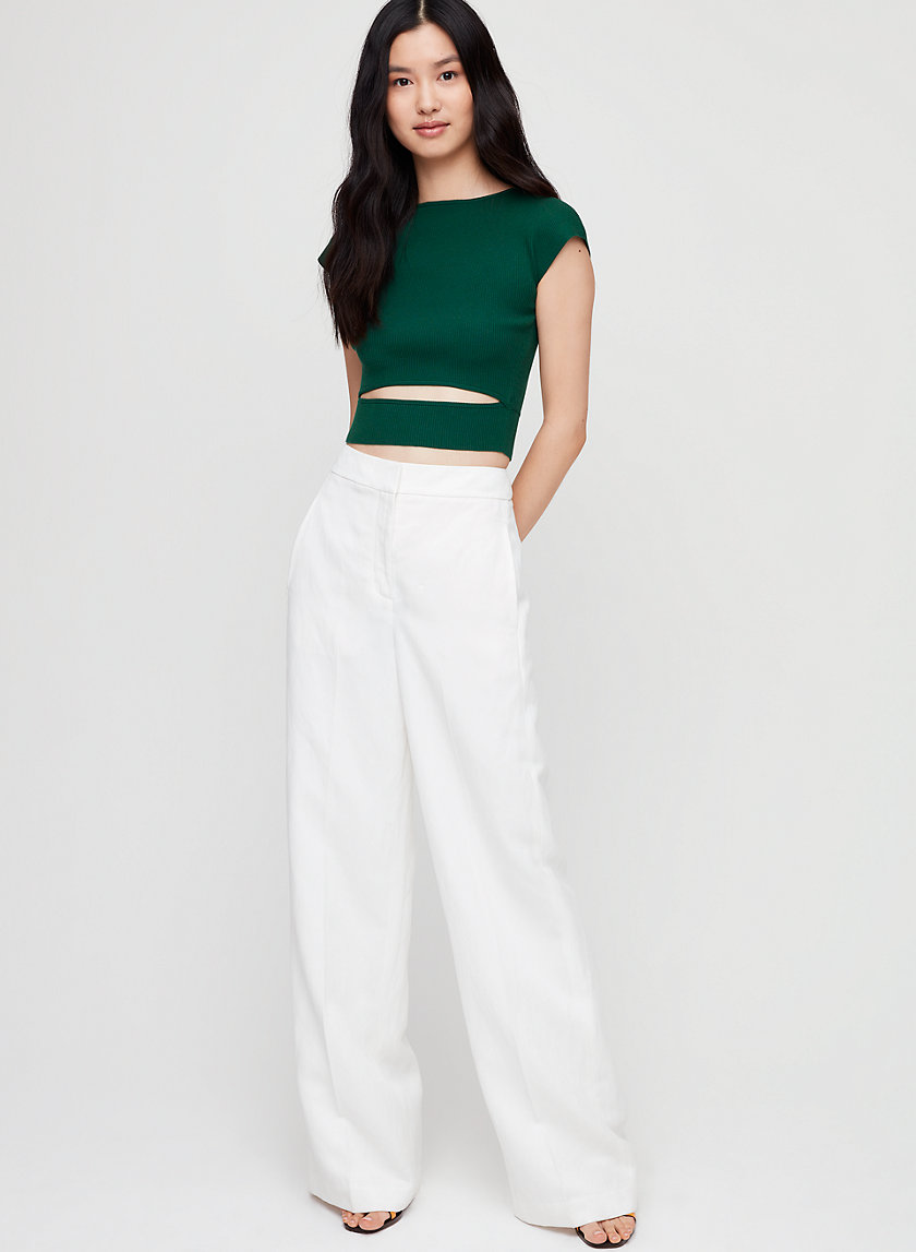 Wilfred YACINE KNIT TOP | Aritzia