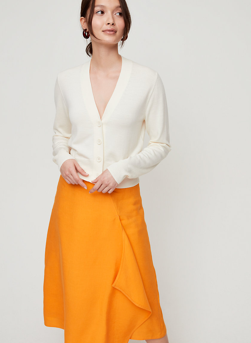 MAEL CARDIGAN - Cropped, merino-wool cardigan