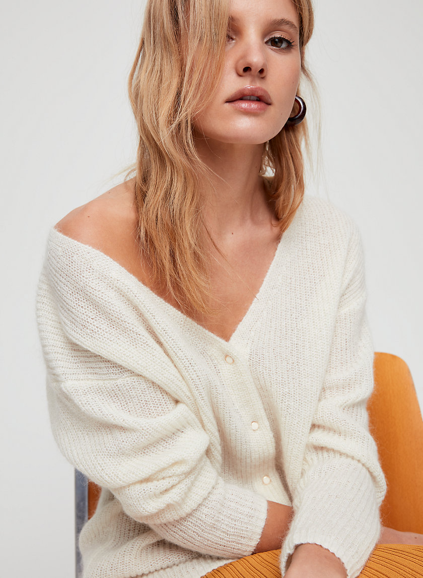 Wilfred FRONT TO BACK CARDIGAN | Aritzia