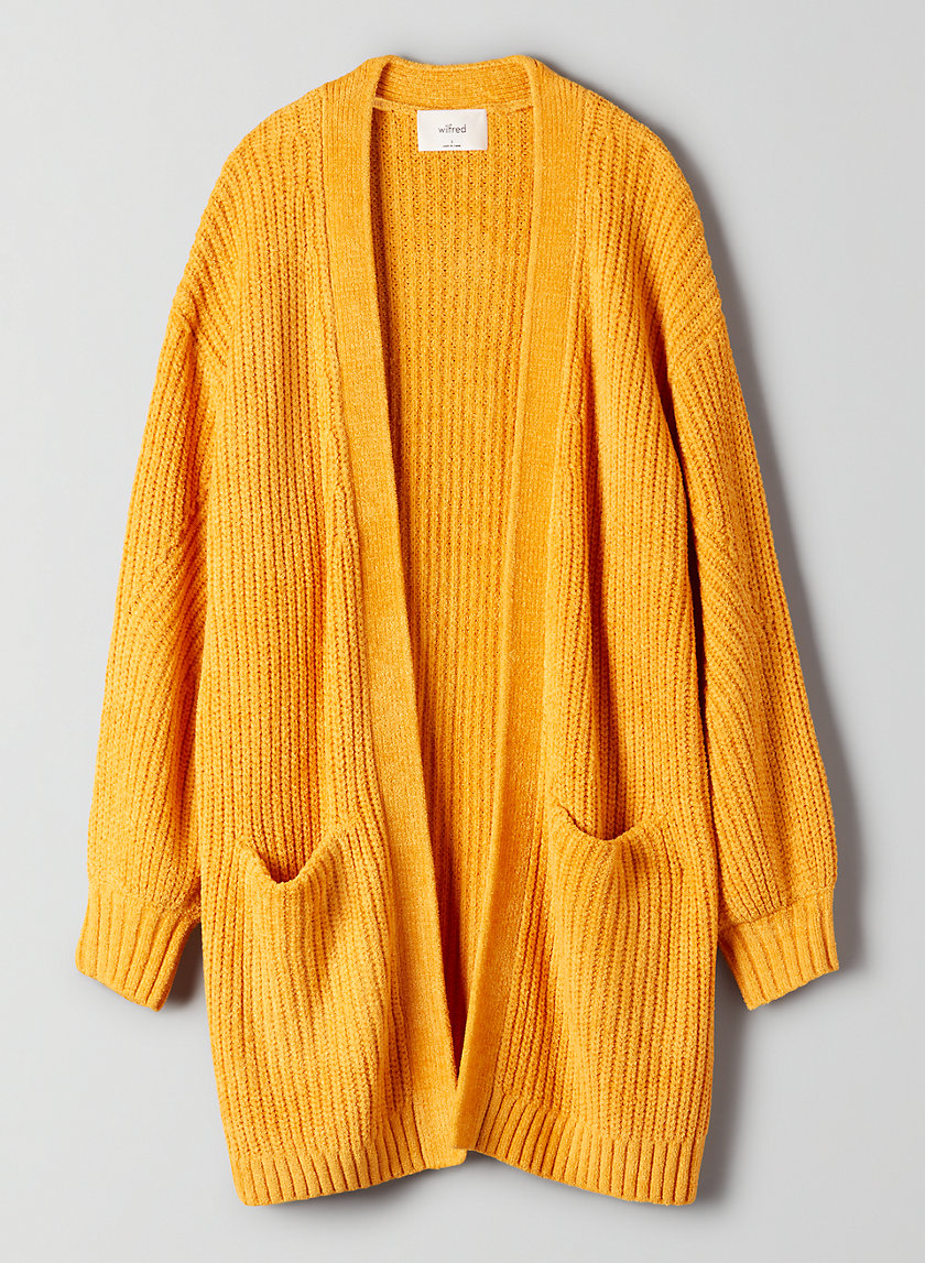ROURKE SWEATER - Oversized knit cardigan