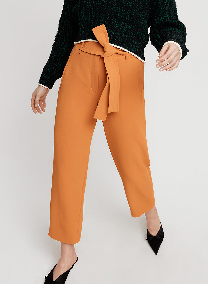 Wilfred TIE-FRONT PANT   Aritzia
