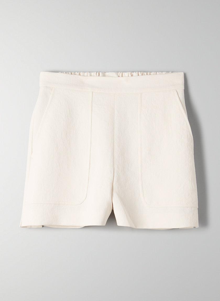 BOISSIER SHORT - High-waisted trouser shorts