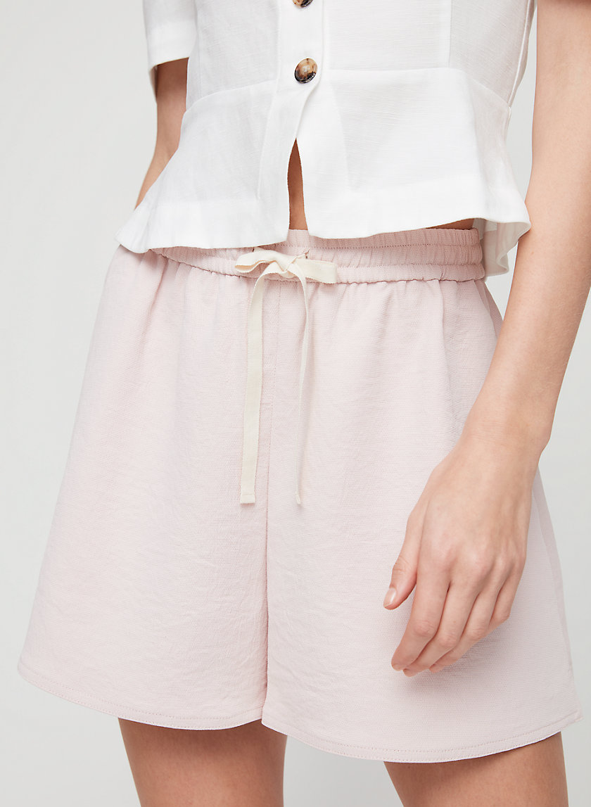 AUTIER SHORT - High-waisted, flowy shorts