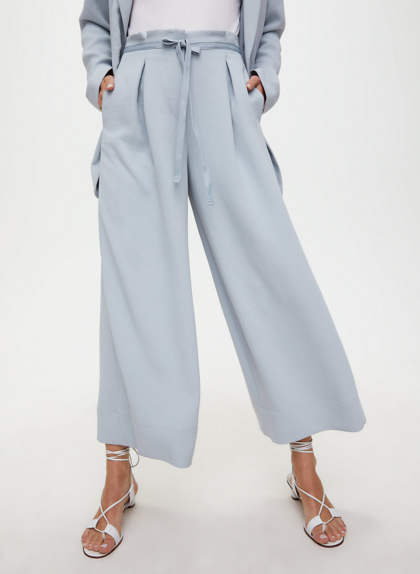 HIGH-RISE CULOTTE - Cropped, wide-leg pant