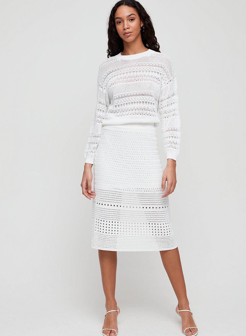 HEIRLOOM SKIRT - High-Waisted Knit Skirt