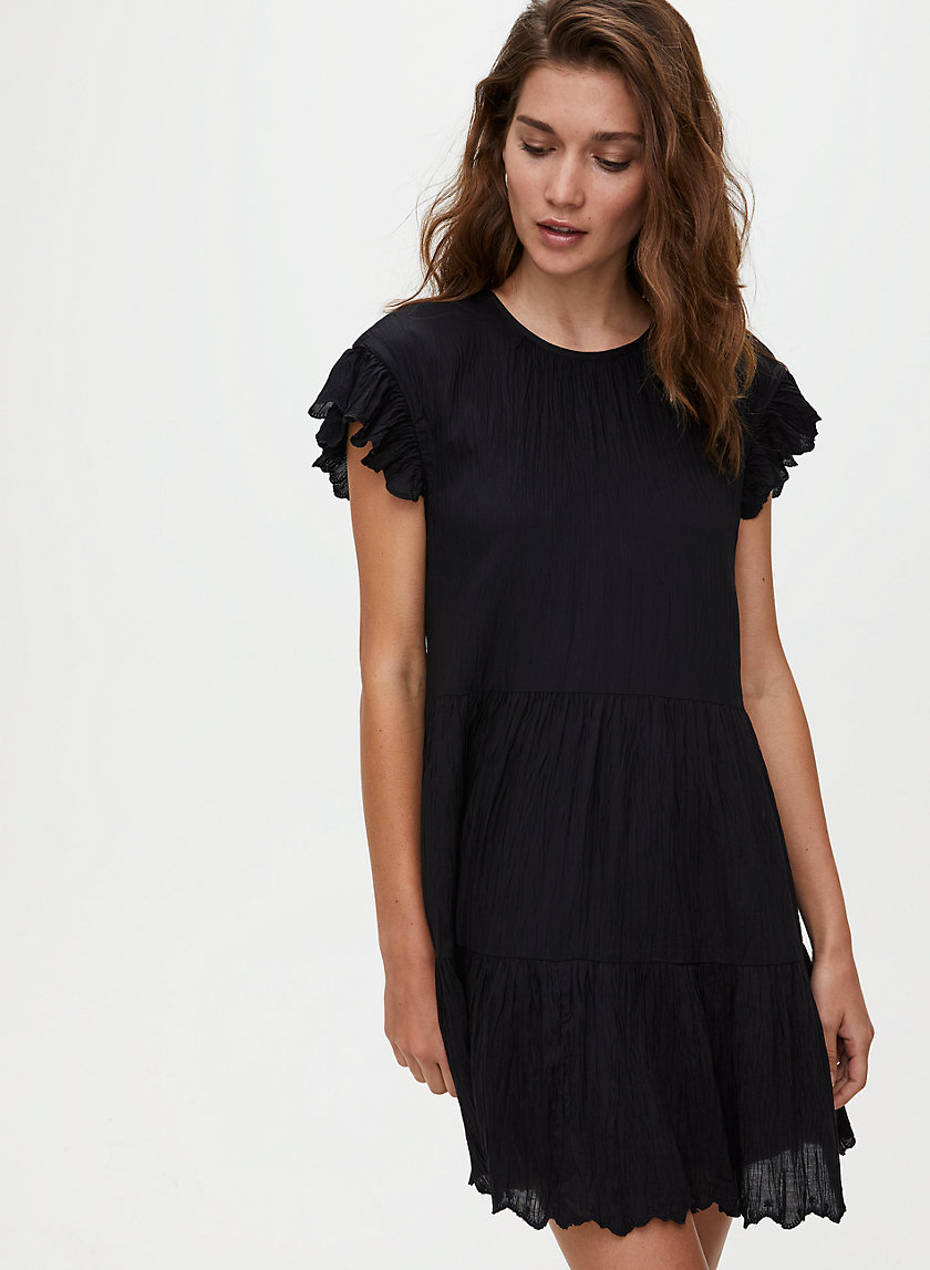 SIDONIE DRESS - Ruffled shift dress