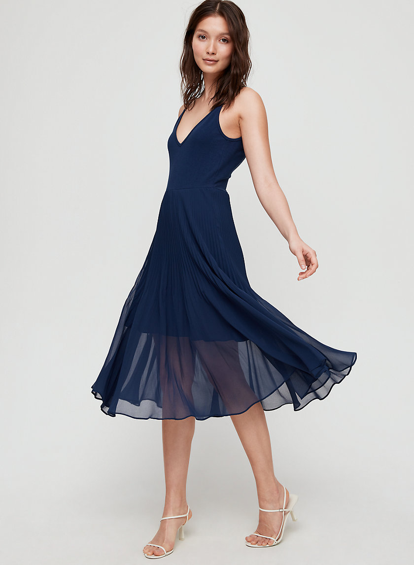 DAPHNEE DRESS - Fit-and-flare midi dress