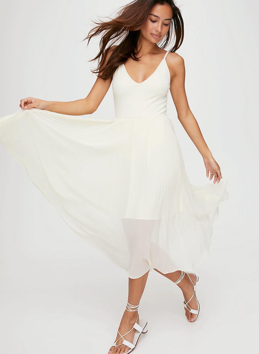DAPHNEE DRESS - Fit-and-flare midi dress