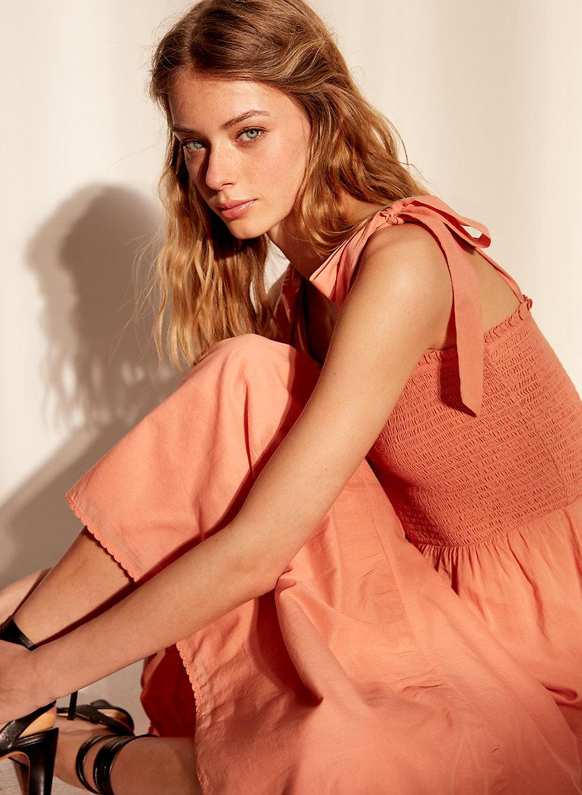ALBA DRESS - Long Sleeveless Dress
