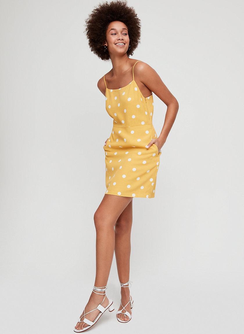 ISABELLE DRESS - Polka-dotted mini dress