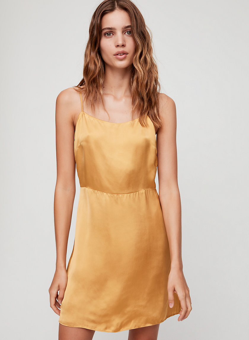 ISABELLE DRESS - Strappy '90s mini dress
