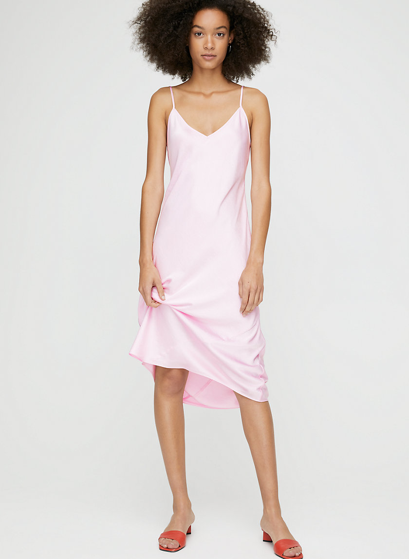 ONLY SLIP DRESS - Slinky midi slip dress
