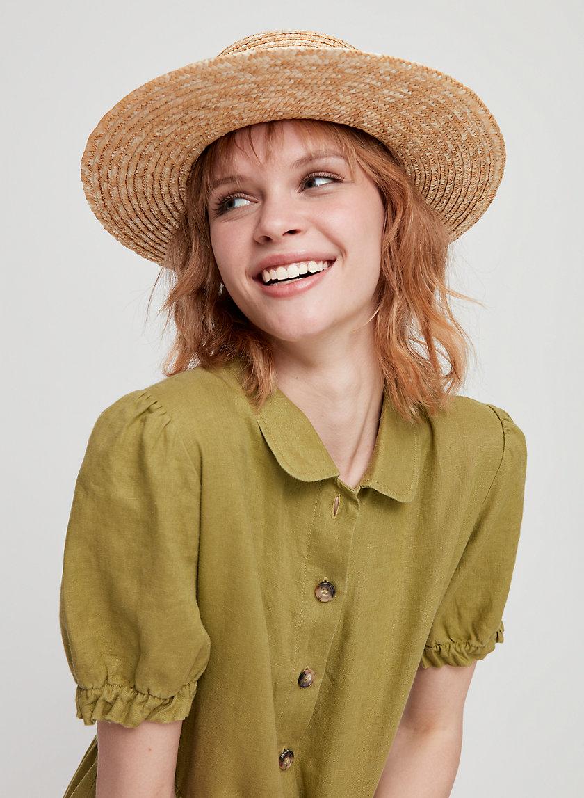CHANTILLY HAT - Straw Fedora