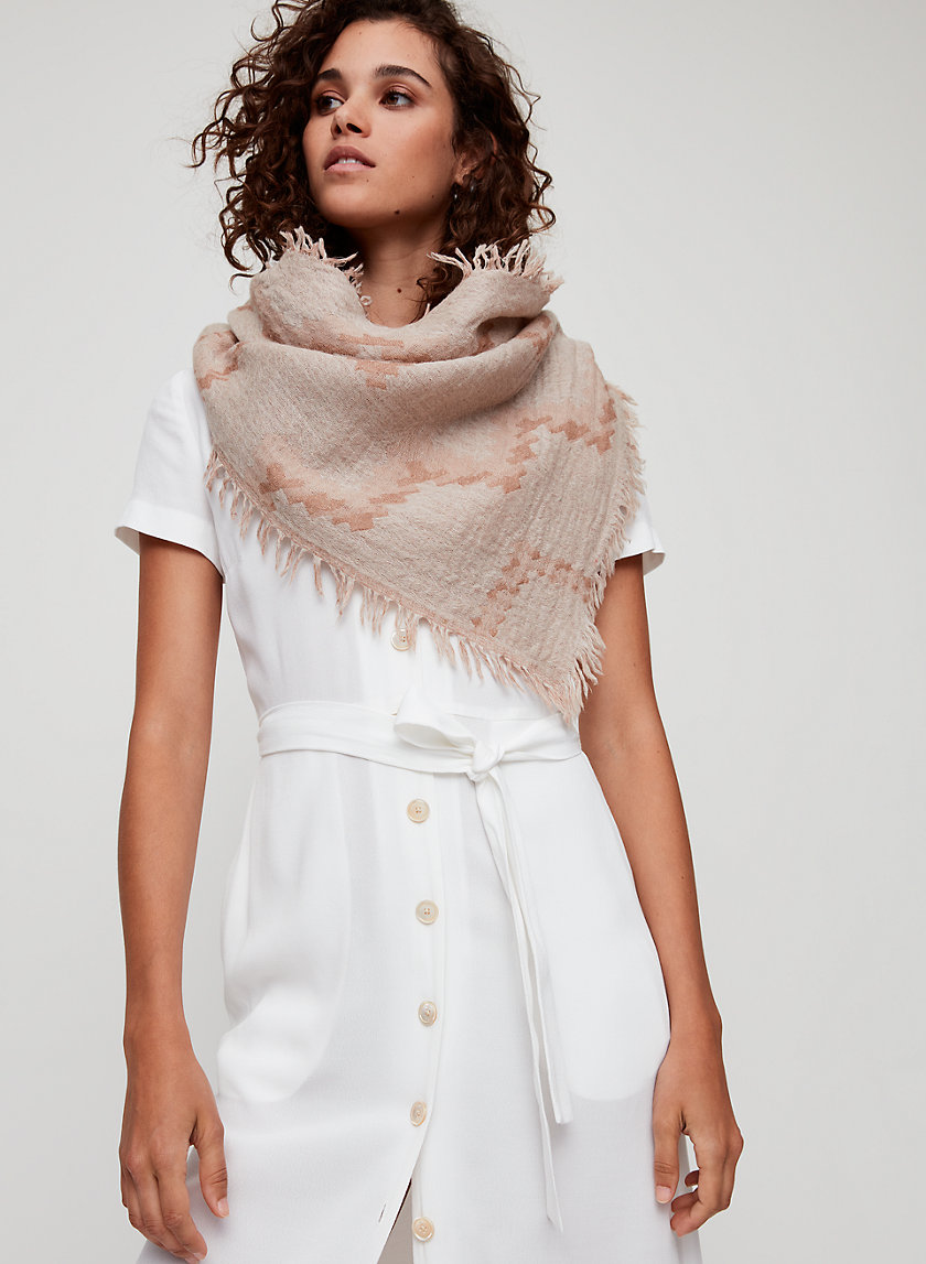 Wilfred DIAMOND MOSAIC SCARF | Aritzia