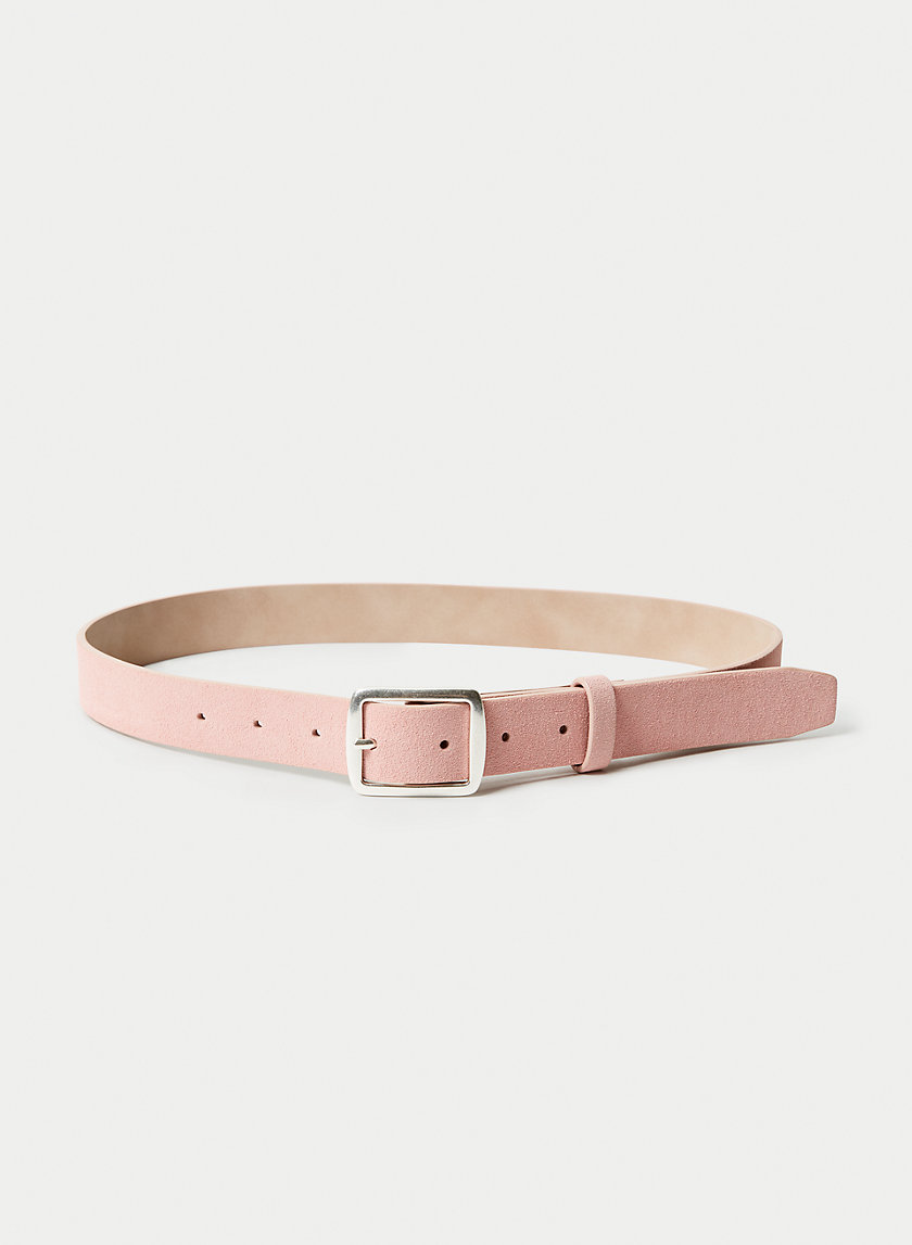 SUEDE SQUARE BELT
