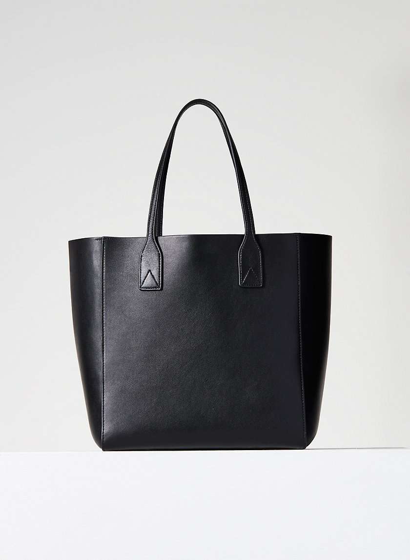 LEATHER CARRY-ALL TOTE