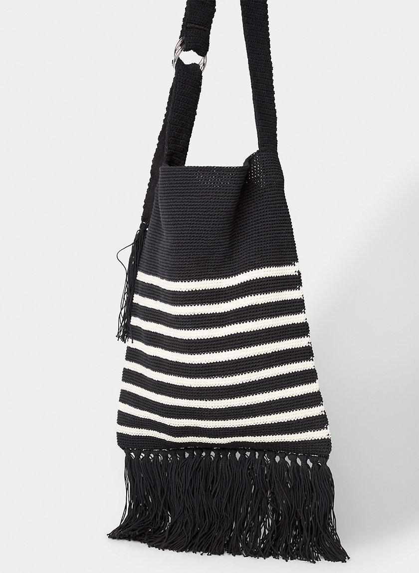 VENICE CROCHET BAG - Hand-crocheted shoulder bag