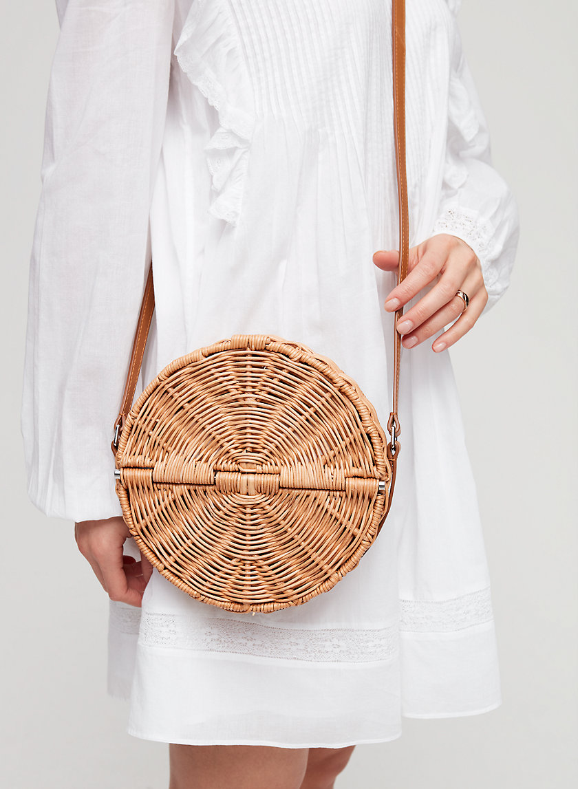 Auxiliary PROVENCE WICKER BAG | Aritzia
