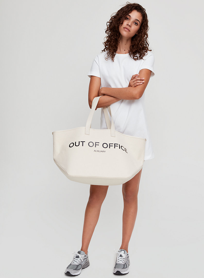 "SOUTH BEACH CARRYALL - ""Out of Office"" tote bag"