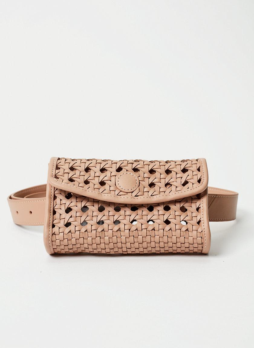 BECKETT BAG - Leather waist bag