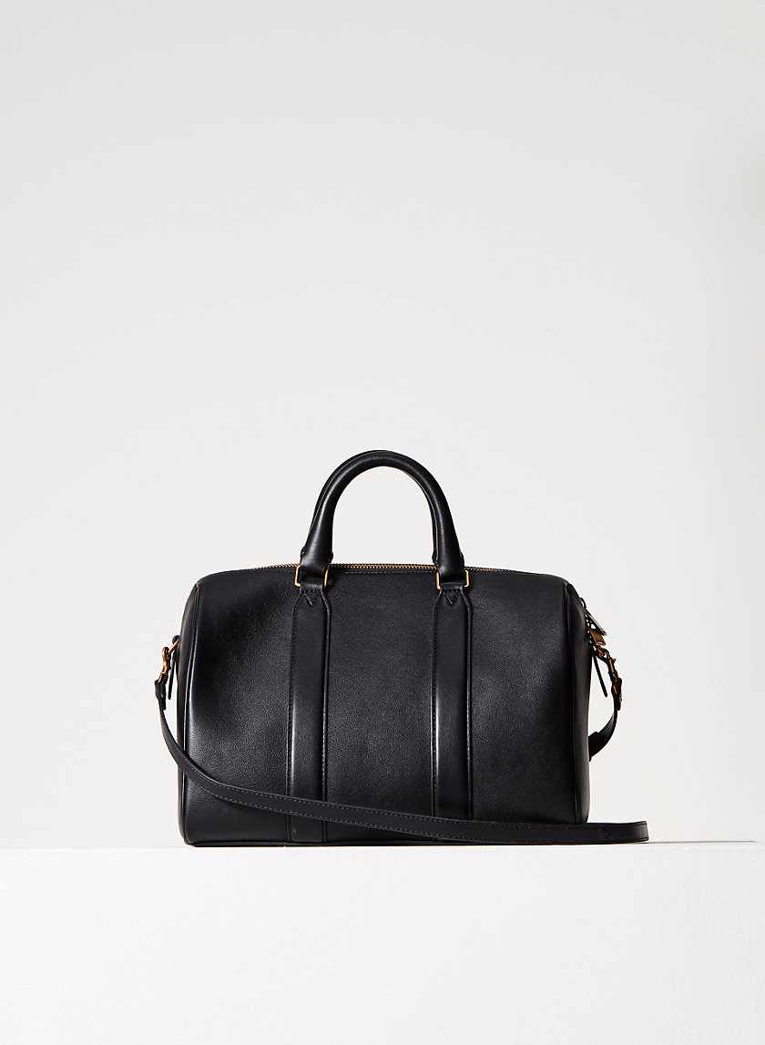 LEATHER DUFFLE BAG - Leather duffel bag