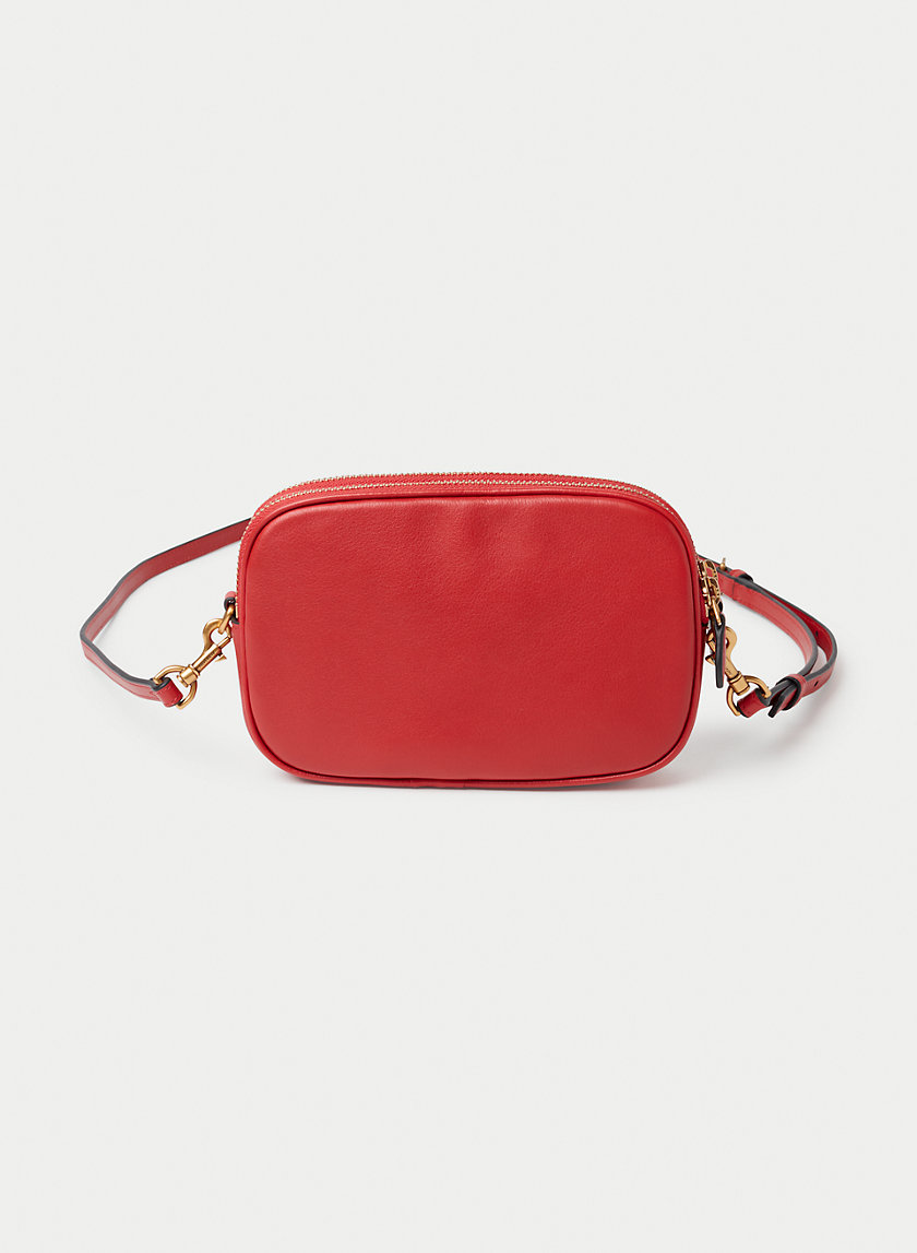 LEATHER MINI CROSSBODY - Small, cross-body bag