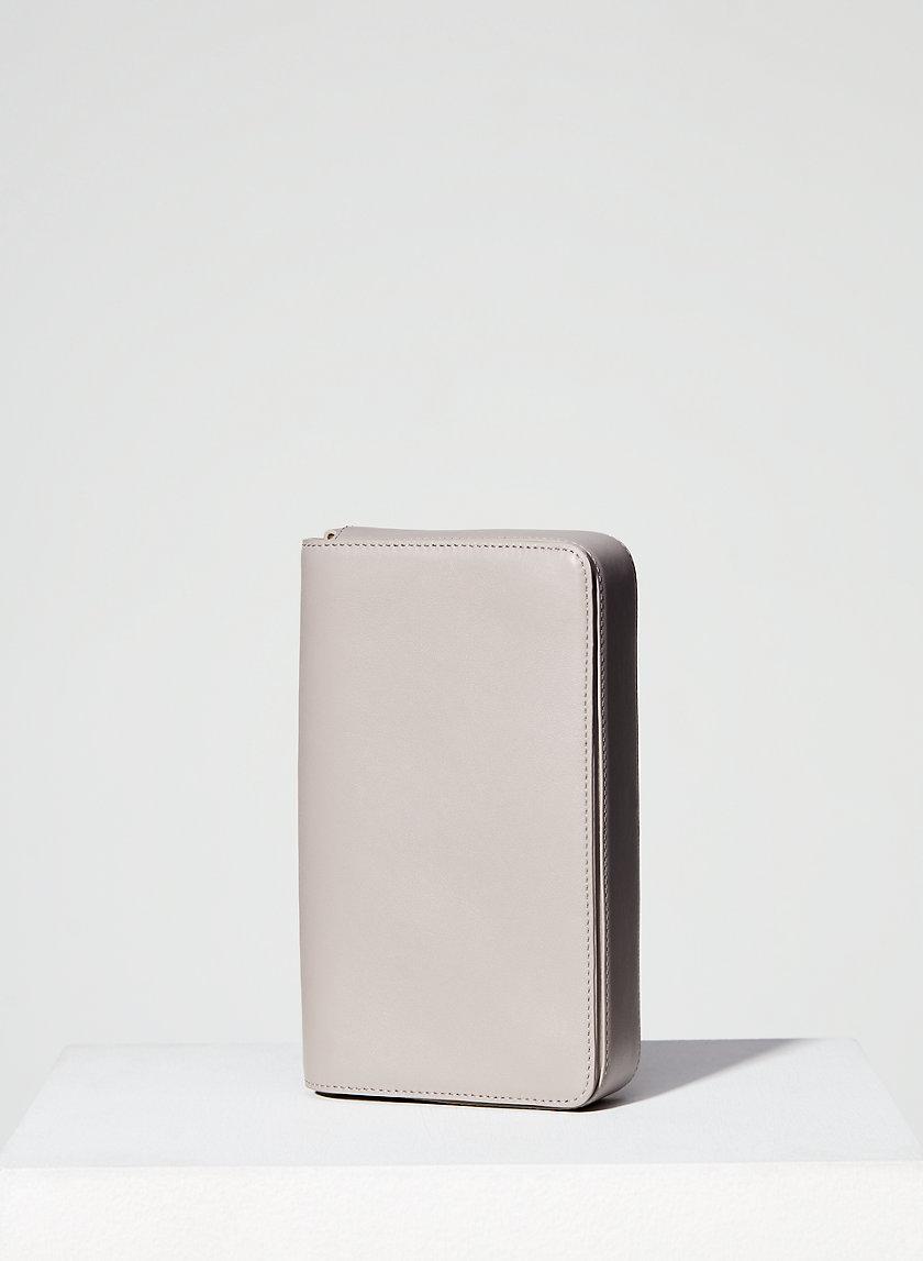 LEATHER FLAP CROSSBODY - Minimal cross-body bag