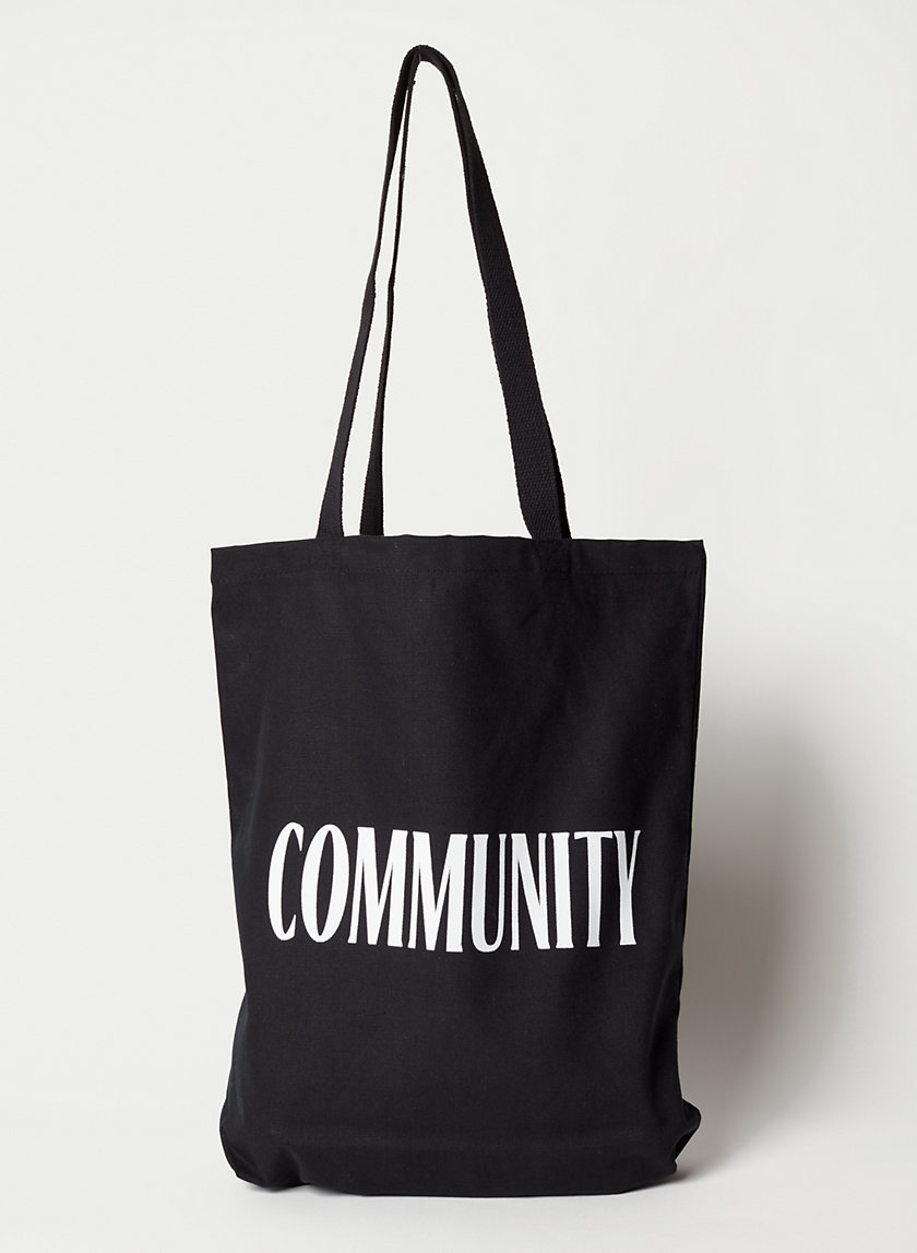 COMMUNITY TOTE BAG - Washable cotton market bag