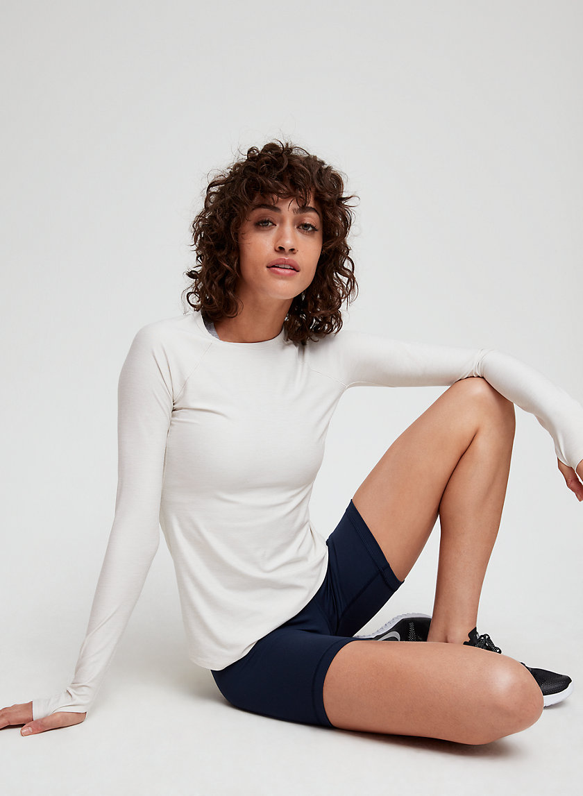 MARLOW T-SHIRT - Long-sleeve workout top