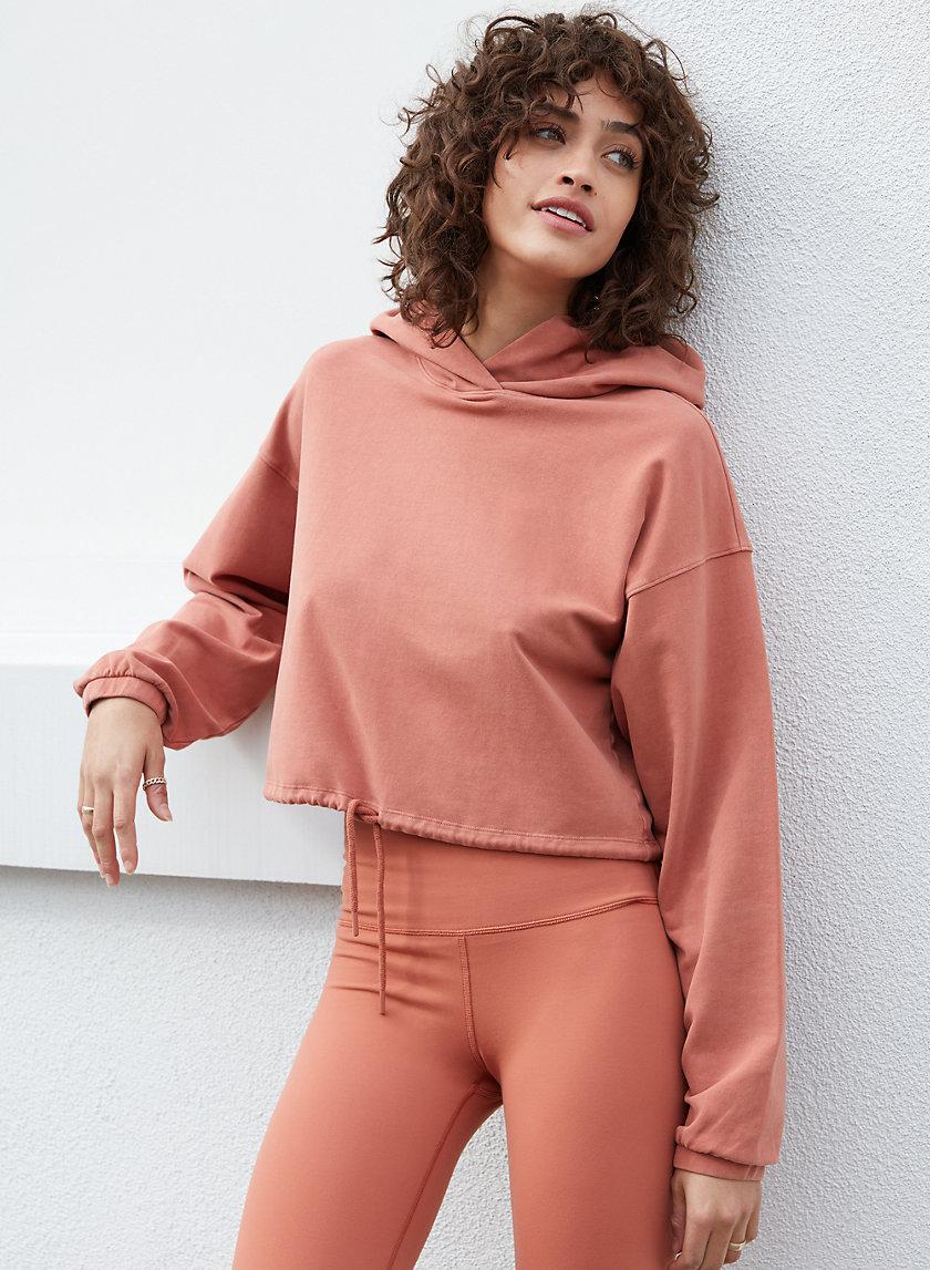 OLA HOODIE - Drawstring waist pullover hoodie