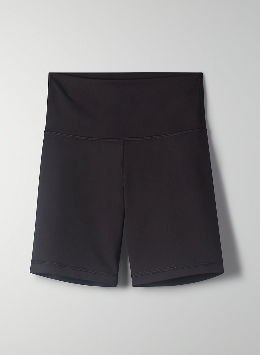 "RELAY SHORT 7"" - High-waisted bike shorts"