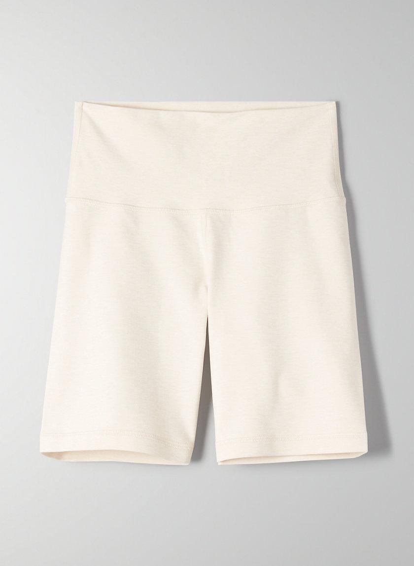 "RELAY SHORT 7"" - High-waisted bike shorts"