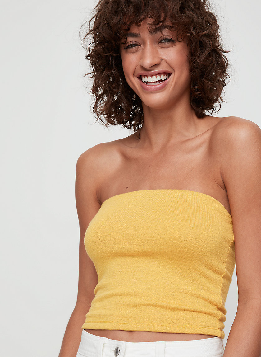 ADRIANA TUBE TOP - Cropped tube top