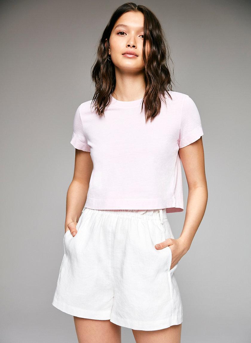 GATANA T-SHIRT - Cropped cotton t-shirt