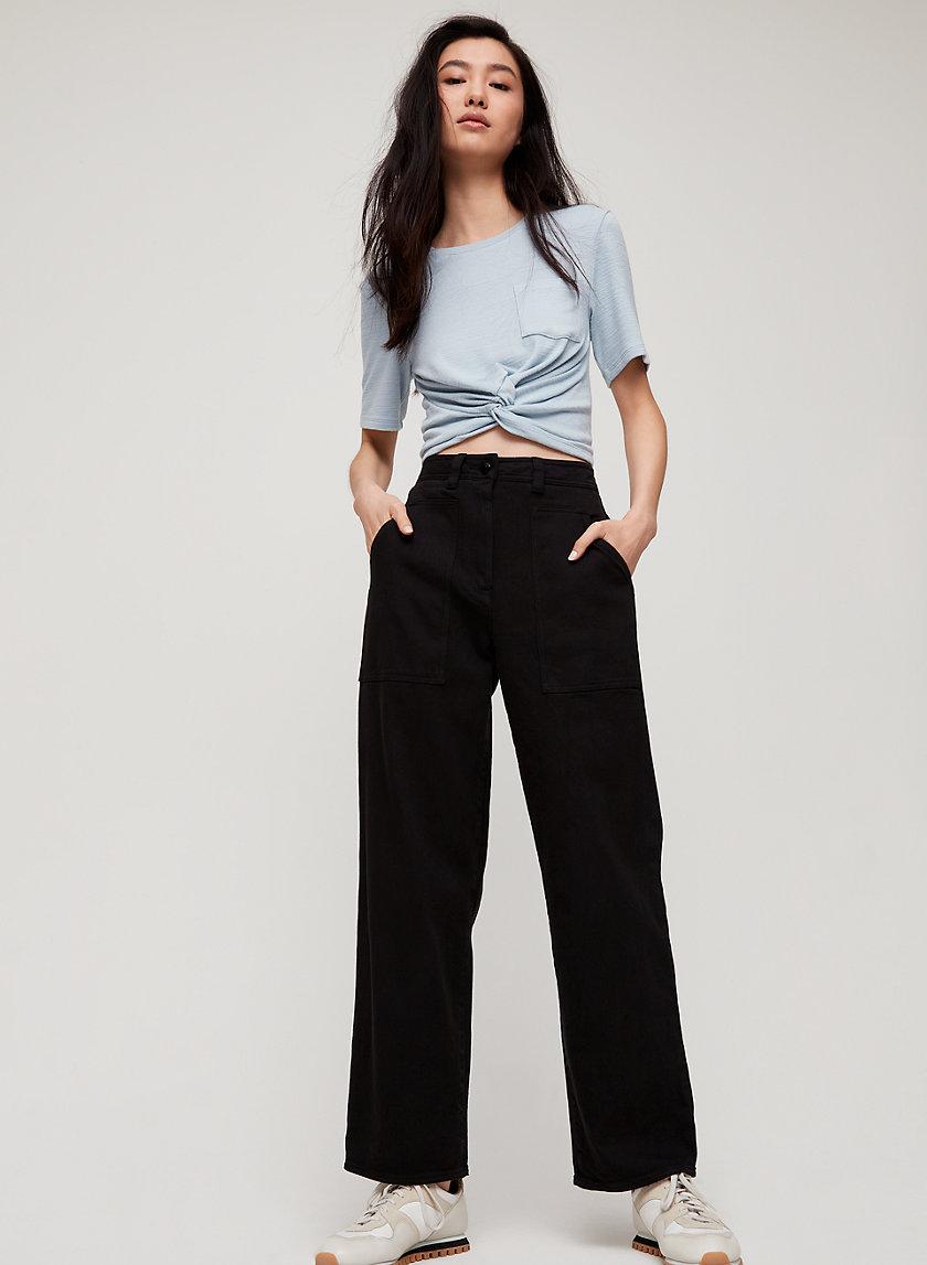 RYLEY PANT - High-waisted, utilitarian pant