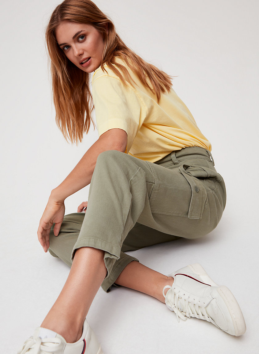 MILA PANT - High-waisted cargo pant