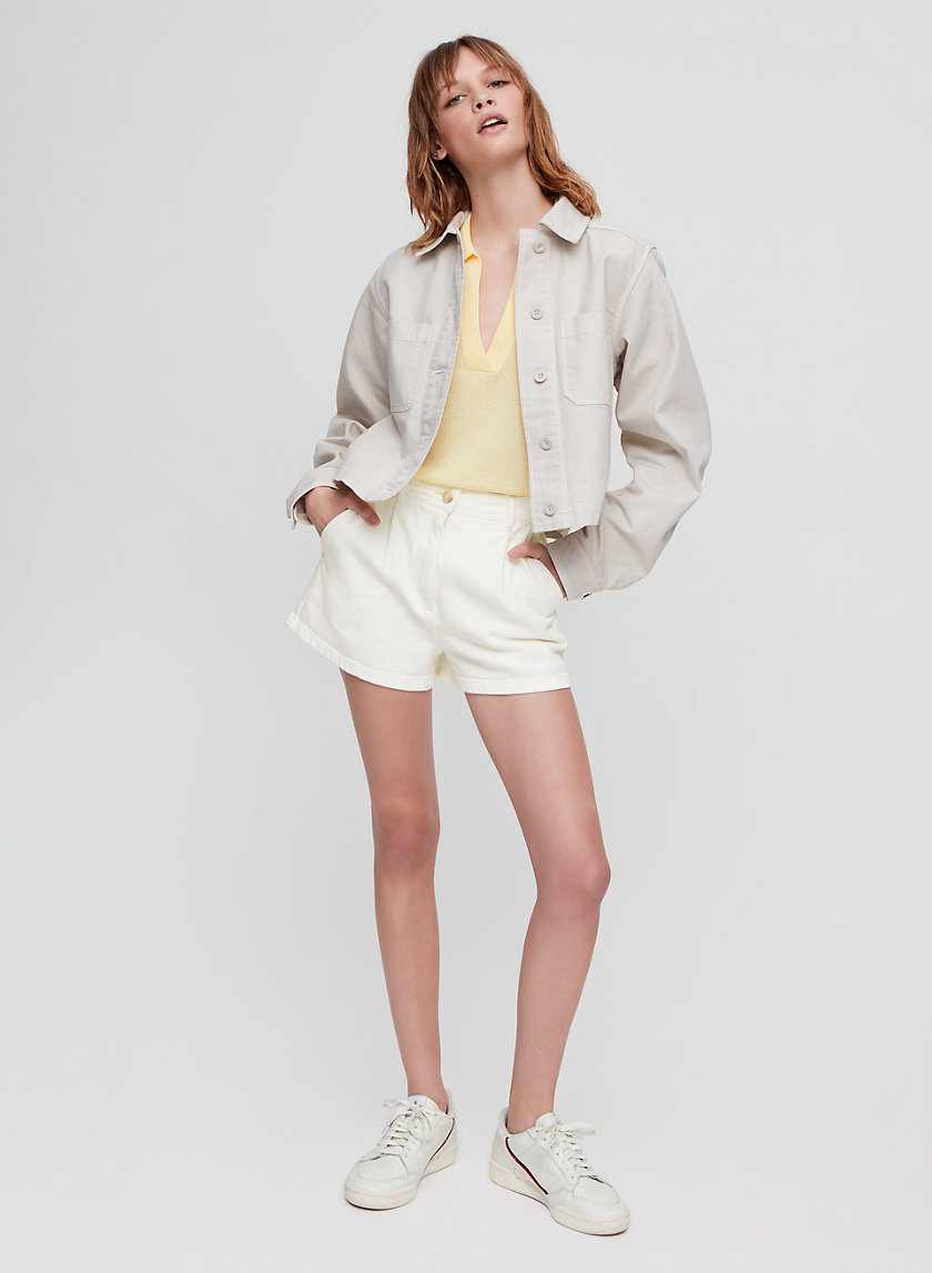 KELLY SHORT - Cotton-twill shorts